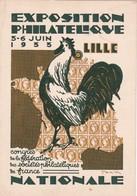 EXPOSITION PHILATELIQUE 1933 A LILLE - Lille