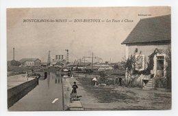 - CPA MONTCHANIN-LES-MINES (71) - BOIS-BRETOUX - Les Fours à Chaux - Edition Billebaud - - Altri Comuni