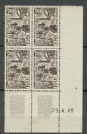 PA 24 - Lille - Coin Daté 29.4.49 - Sans Charnière Ni Trace - 1927-1959 Neufs