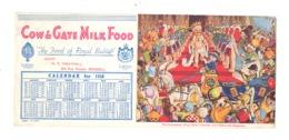 """Buvard Publicitaire """" COW & GATE MILK FOOD  """" Aliments Pour Bébé, Lait,...1938 (b273) - Parfum & Kosmetik"""