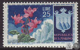 San Marino 1953 Correo 380 Flor  * - Nuovi