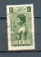 GAB 335 - YT Taxe 32 ° Obli - Gabon (1886-1936)