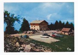 74 LE SEMNOZ Hôtel Des ROCHERS BLANCS Tél 1 Semnoz Par Rumilly En 1976 Citroën DS Traction 4CV Panhard Aronde - Rumilly