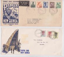 Papua New Guinea Papouasie Nouvelle-Guinée Lot De 3 Enveloppes Premier Jour FDC First Day Cover - Papouasie-Nouvelle-Guinée