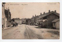 - CPA PONT-DE-VAUX (01) - Place Bertin 1904 - Edition B. F. N° 26 - - Pont-de-Vaux