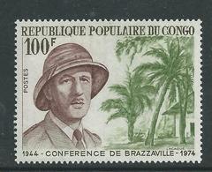 Congo N° 355 XX  30è Anniversaire De La Conférence De Brazaville, Portrait Du Gal De Gaulle Sans Charnière, TB - Unclassified