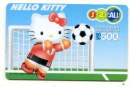 TK 17657 THAILAND - Prepaid - 12call - Hello Kitty - Thaïland