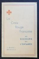 France Très Beau Carnet Vignettes Croix-Rouge De 1947 Neufs ** MNH. TB. A Saisir! - Erinnofilia