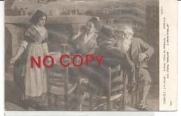Salsé S. M., Quadro Tratto Da Mireille, Poema Epico Provenzale Di Frédéric Mistral. Triest 20.7.1916 Su F.bollo Austria. - Theatre