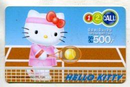 TK 17658 THAILAND - Prepaid - 12call - Hello Kitty - Thaïland