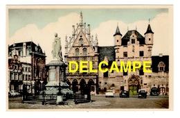 DD / BELGIQUE / PROVINCE D' ANVERS /MALINES - MECHELEN / MONUMENT À MARGUERITE D' AUTRICHE, HÔTEL DE VILLE , HALLE ... - Mechelen
