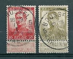 111/112 Gestempeld BRUSSEL - BRUXELLES 5 - COBA 8 Euro - 1912 Pellens