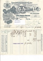 69 LYON Et 55 OLIZY - Ets Ch. ANDRE Appareils Pour L'emploi Du GAZ - 941219 - 1900 – 1949