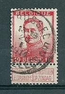 123 Gestempeld BRUSSEL - BRUXELLES 5C - COBA 4 Euro - 1912 Pellens