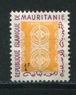 MAURITANIE- Service Y&T N°21- Neuf Avec Charnière * - Mauritanie (1960-...)