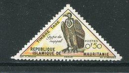 MAURITANIE- Taxe Y&T N°34- Neuf Avec Charnière * (rapace) - Mauritanie (1960-...)