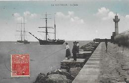 11)  LA NOUVELLE  - La Jetée - Port La Nouvelle