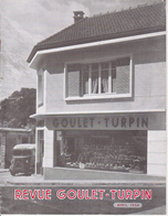 REVUE GOULET TURPIN / AVRIL 54 / Montmorency, Gennevilliers, Verzy, Verzenay, GuignIcourt,Bouzy, Muizon, Camion Magasin - Livres, BD, Revues