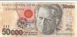 BRASILE 50000 CRUZADOS -UNC - Brazil