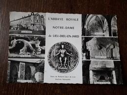 L26/132 Jard Sur Mer - Abbaye Royale Notre Dame De Lieu Dieu - Francia