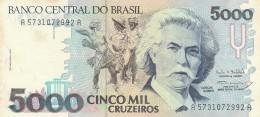 BRASILE 5000 CRUZADOS -UNC - Brazil