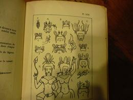 1927 Costumes Et Parures KHMERS Au Cambodge- D'après Les DEVATÂ D'ANGKOR-VAT Par Mlle Sappho Marchal (nombreux Dessins ) - Books, Magazines, Comics