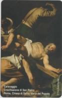 SCHEDA TELEFONICA NUOVA VATICANO SCV176 CROCIFISSIONE SAN PIETRO - Vaticano