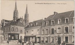 Orne : LA  CHAPELLE  MONTLIGEON : L  église   , ,restaurant  Havard  , La  Place - Sonstige Gemeinden