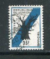 SENEGAL- Service Y&T N°13A- Oblitéré - Senegal (1960-...)