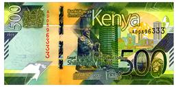 KENYA 500 SHILLINGS 2019 Pick New Unc - Kenya
