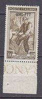 PGL DA061 - TRIESTE AMG-FTT SASSONE N°107 ** - 7. Trieste