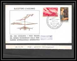 41800 Pise Pisa Ascanio 1970 Italie (italy) Hélicoptère Helicopter Aviation PA Poste Aérienne Airmail Lettre Cover - Hubschrauber