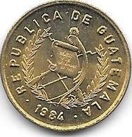 *guatemala 1 Centavo 1984  Km 277.2   Bu - Guatemala