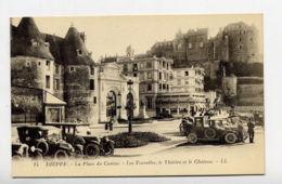 76*DIEPPE-La Place Du Casino-Les Tourelles-Le Theatre Et Le Ch?au - Dieppe