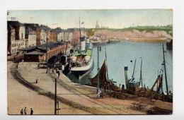 76*DIEPPE-La Gare Maritime Et L'Avant Port - Dieppe