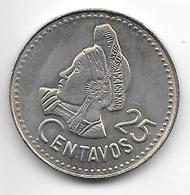 *guatemala 25 CentavoS 1985  Km 278.5   Bu - Guatemala