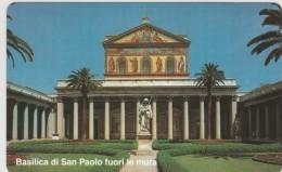 SCHEDA TELEFONICA NUOVA VATICANO SCV70 BASILICA SAN PAOLO - Vaticano