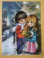 KOV 8-178 - NEW YEAR, Bonne Annee, Children, Enfant, - Nouvel An