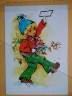 KOV 8-179 - NEW YEAR, Bonne Annee, Children, Enfant, BELL - New Year