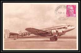 41965 France Aviation Le Bourget 1948 Collection Air France Marianne Gandon Airmail Carte Postale (postcard) - Marcophilie (Lettres)
