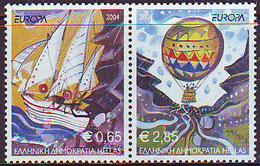 Grecia 2004 Europa Z020042A Grecia'04 (2s)  **/MNH - Greece