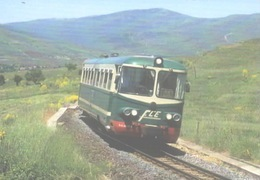 388 FCE RALn 64.03 Maletto Catania Sicilia Railroad Trein Railways Treni - Estaciones Con Trenes