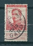 118 Gestempeld GENT - GAND 3J - 1912 Pellens