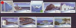 Grecia 2010 Correo 2534/43a Islas Griegas-de Carnet (10v)  **/MNH - Ongebruikt