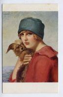 ARTS*Portrait De Femme Au Bonnet-G. HERVE - Sin Clasificación