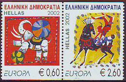 Grecia 2002 Europa Z020022A. Grecia'02 De Crn  **/MNH - Greece