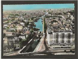 CPSM Chalon Sur Saone Vue D'ensemble  Sur Le Canal  L'Immeuble Pont Jean  Richard - Chalon Sur Saone