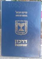 ISRAEL Sky-blue Small Soft Cover  Reisepass, Passport, Pasaporte, Passeport  Condition! - Documenti Storici