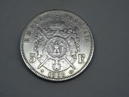 Moneta Coins France 5 Francs 1868 Strasbourg - Colonie