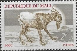 MALI 1969 Domestic Animals - 2f. Goat MH - Mali (1959-...)